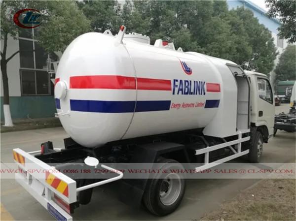 Caminhão distribuidor de gás GLP da China