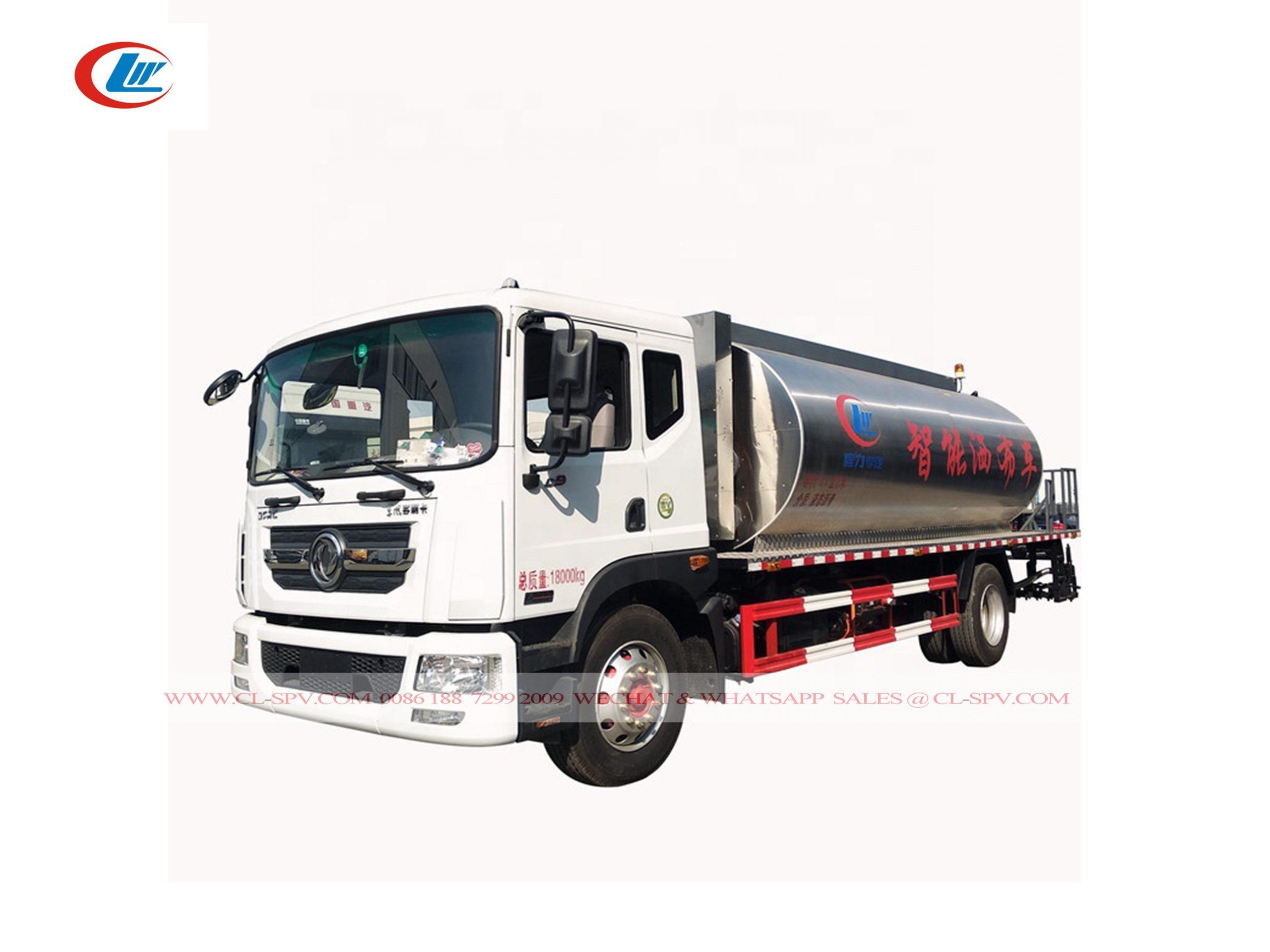 Dongfeng 8000 litros Camión pulverizador de betún