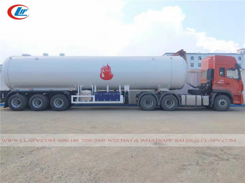 30000 liters LPG tanker trailer truck