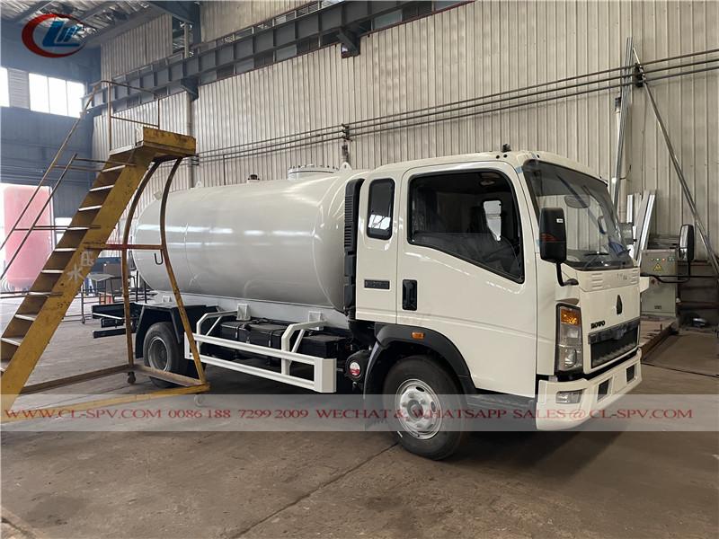 Howo 8000 Liter LPG-Transportwagen