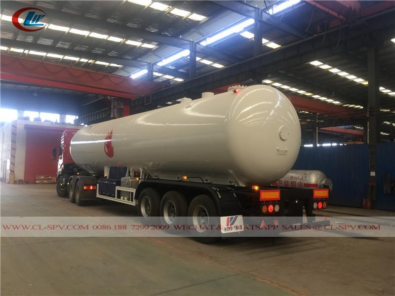 3 eixos GPL 30000 litros caminhão reboque LPG