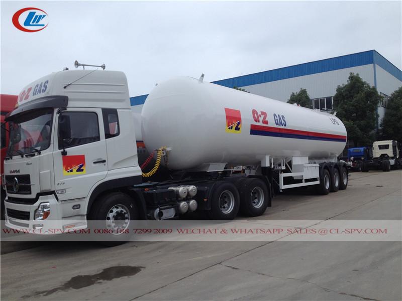25000 لتر شاحنة صهريج LPG