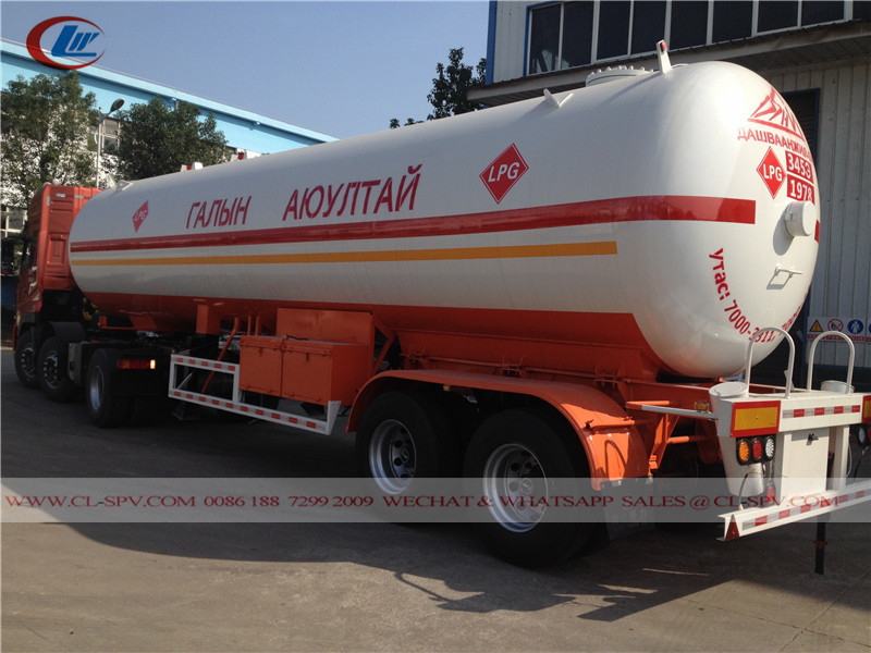 20000 litros caminhão reboque tanque a GLP