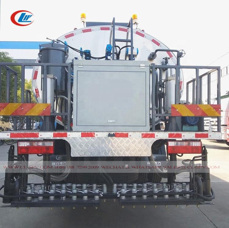 Dongfeng 8000 литров битумный опрыскиватель