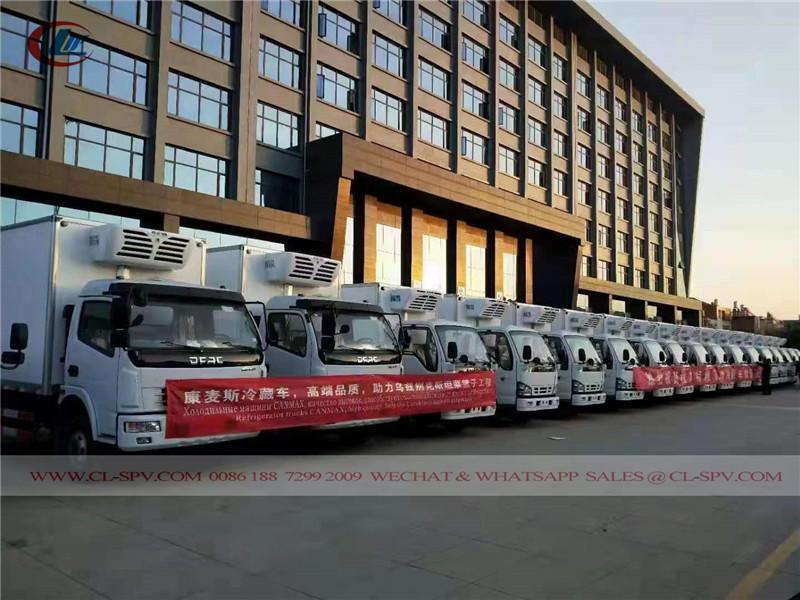 Caminhão van refrigerada Isuzu