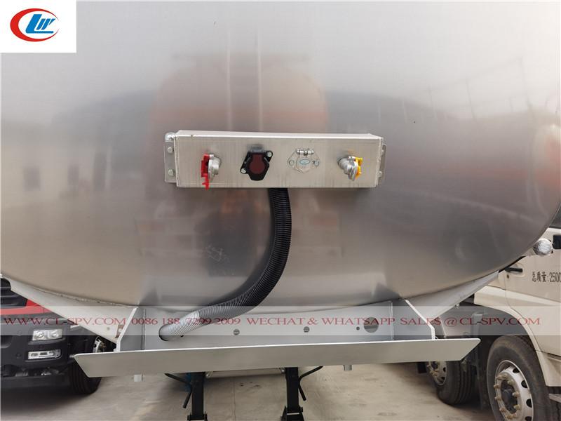 10 unidades reboque de transporte de óleo para exportação