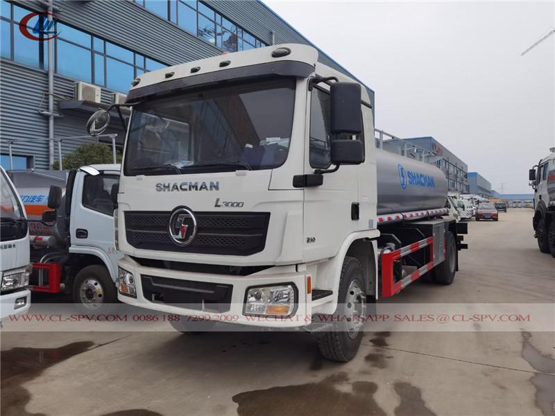 Shacman 10000 litres camion-citerne de carburant