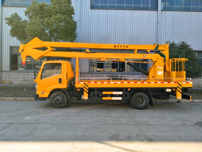 Jiangling aerial bucket truck