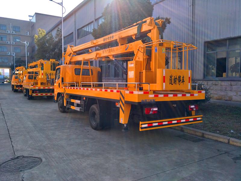 Jiangling Kairui 18m aerial bucket truck