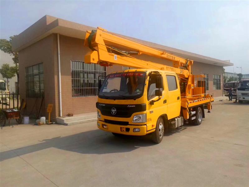 Foton 16 m aerial bucket truck