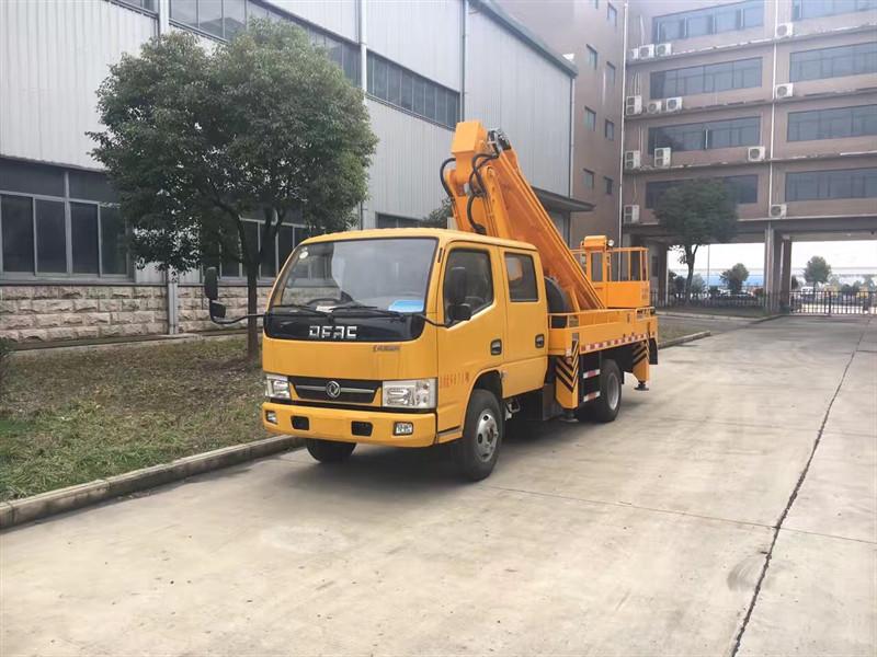 Caminhão de caçamba aérea Dongfeng