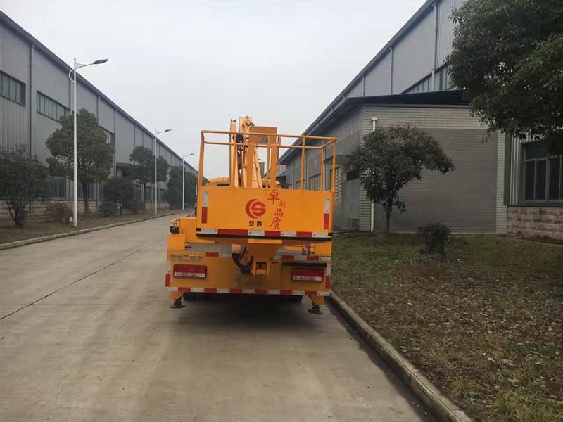 Dongfeng telescopic Boom Aerial bucket Truck