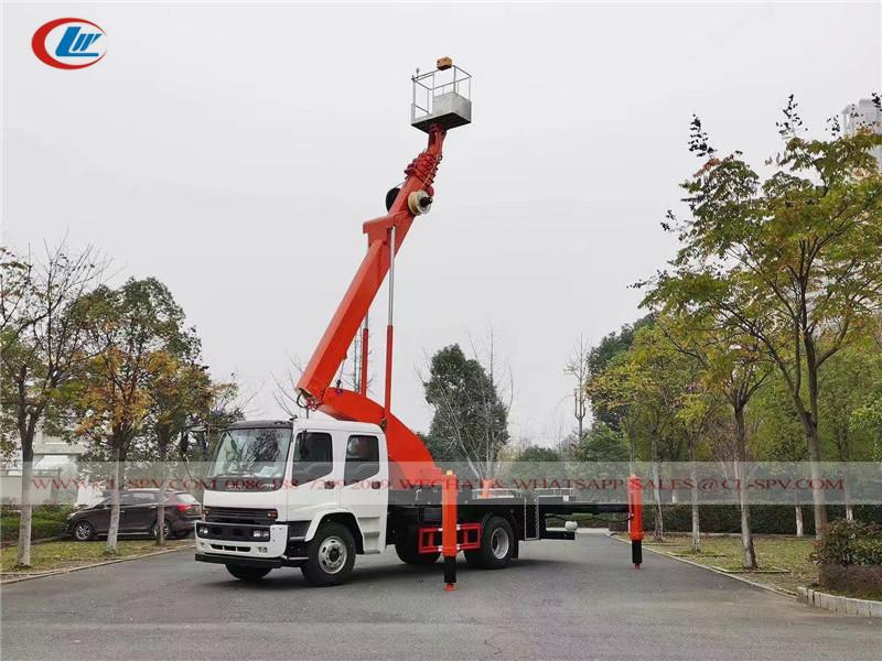 ايسوزو FTR 40 متر شاحنة دلو الهوائية