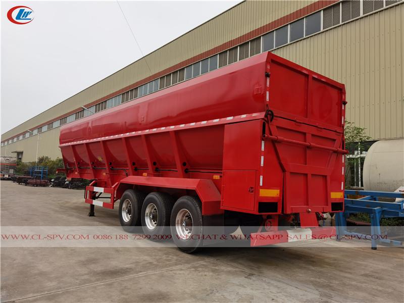履带式输送机自卸拖车厂