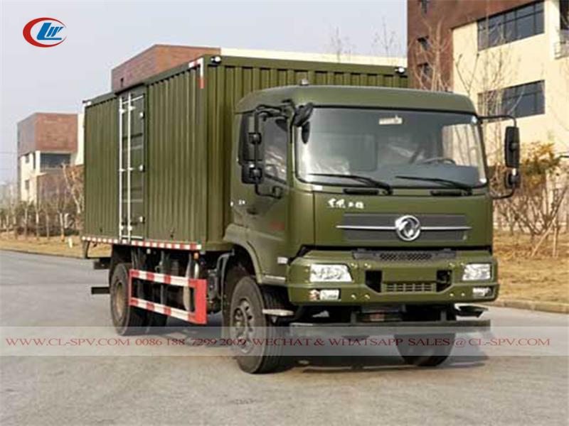 Dongfeng 4wd off road van truck