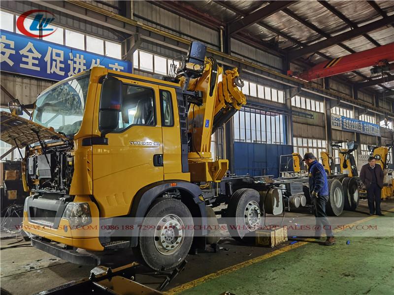 هووا شاحنة xcmg 10 طن رافعة