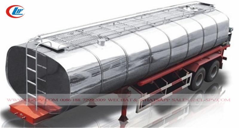 40000 litros de remolque de transporte de betún