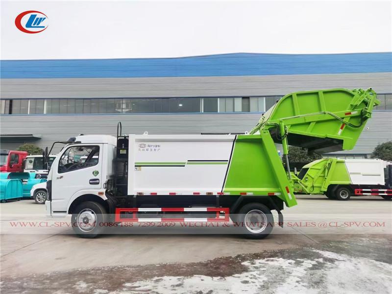 دونغفنغ D7 5-6 شاحنة مدمجة القمامة القمامة