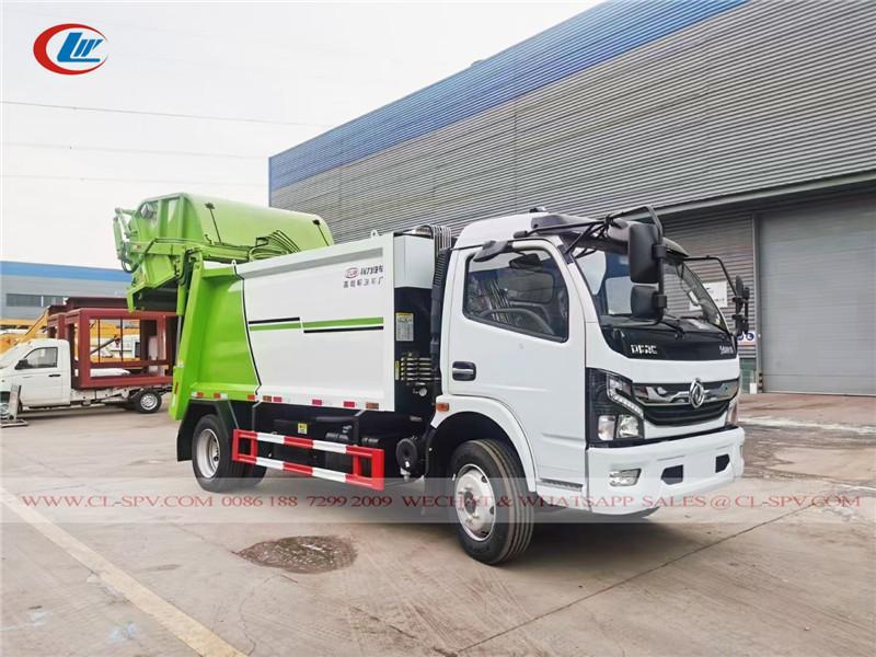 دونغفنغ 5 طن شاحنة القمامة المطحنة