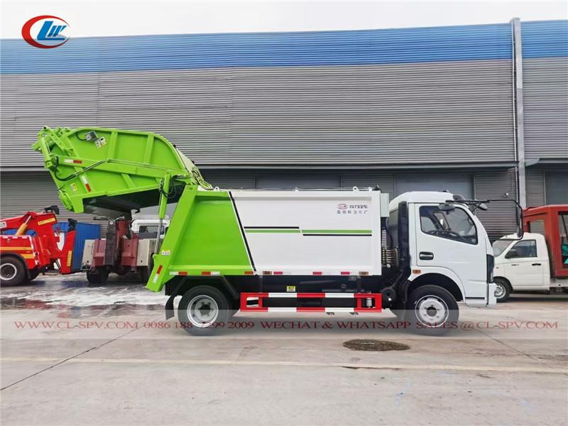 دونغفنغ 6 طن شاحنة القمامة المطحنة