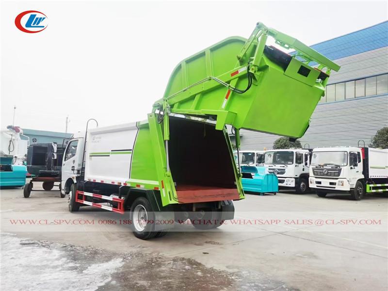 دونغفنغ 5 طن محمل القمامة الحقيقي