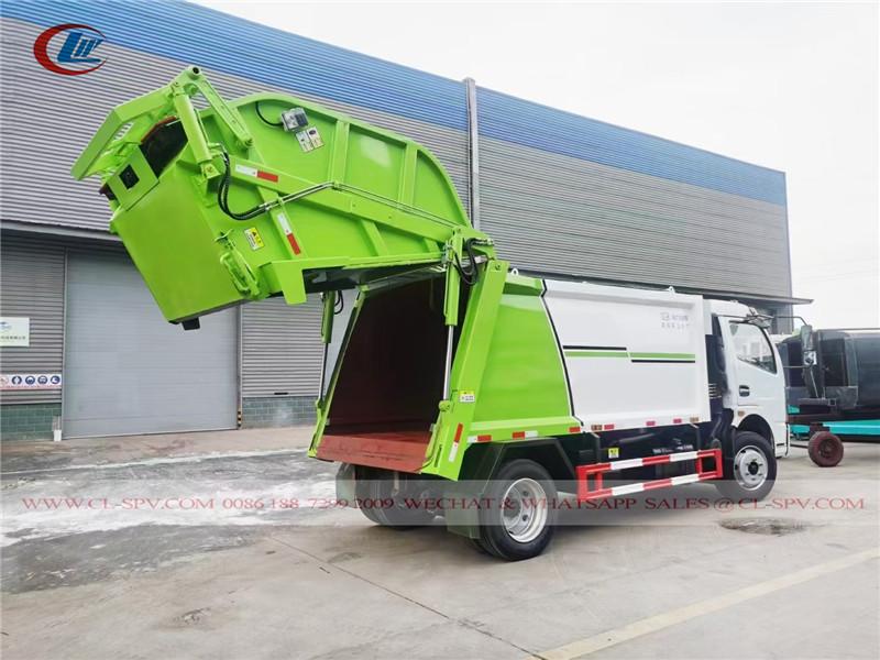 دونغفنغ 5 طن شاحنة نفايات لودر حقيقية