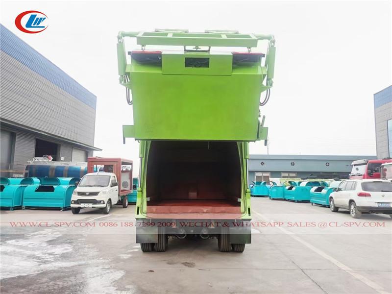 دونغفنغ شاحنة محمل حقيقية لجمع القمامة