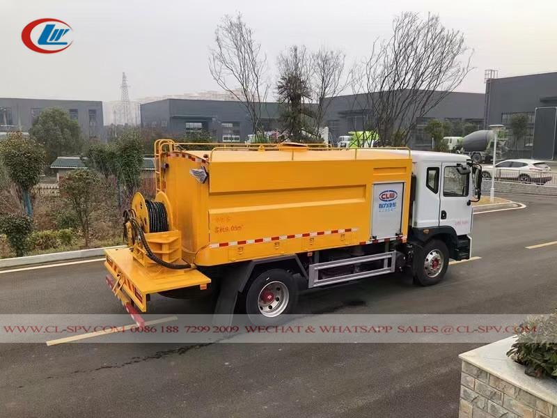 10000 liters Truck Mounted Jetting machine