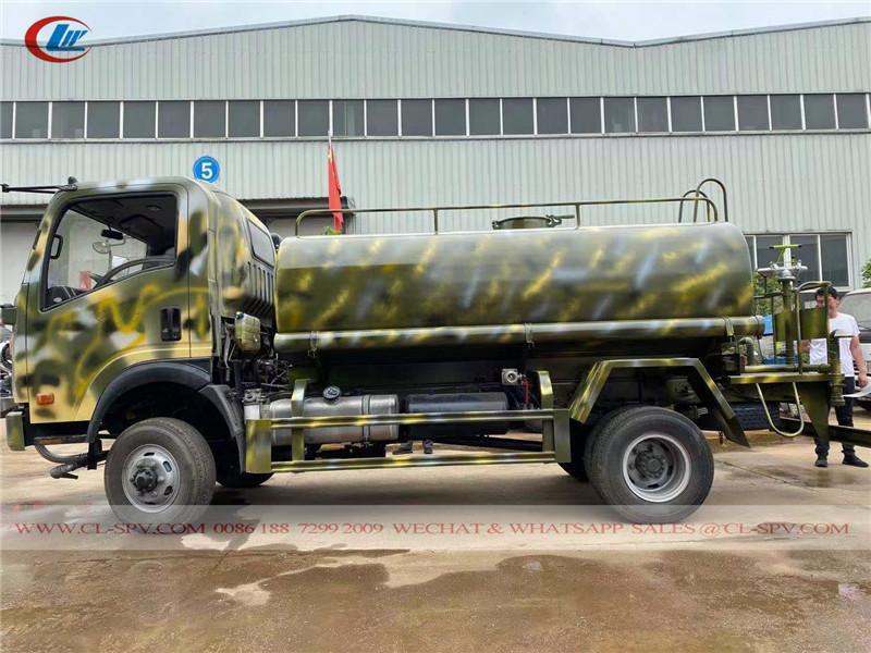 Howo CDW 5000 litri di acqua bowser