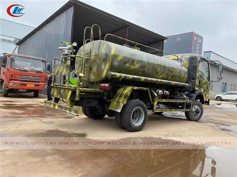 Howo 4x4 5000 litri di acqua bowser