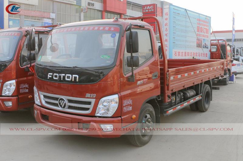 фотографии 4.2 метров грузовик с открытым кузовом