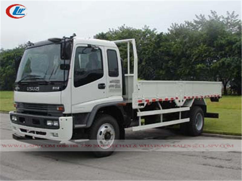Бортовой грузовик с открытым кузовом Isuzu FTR