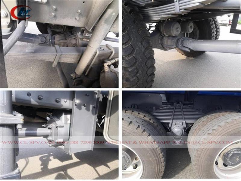 Howo Abwasserwagen-Chassis