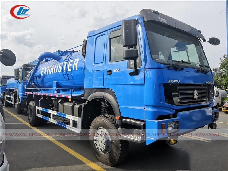 Howo 18000-20000 Liter Vakuum Abwasserwagen