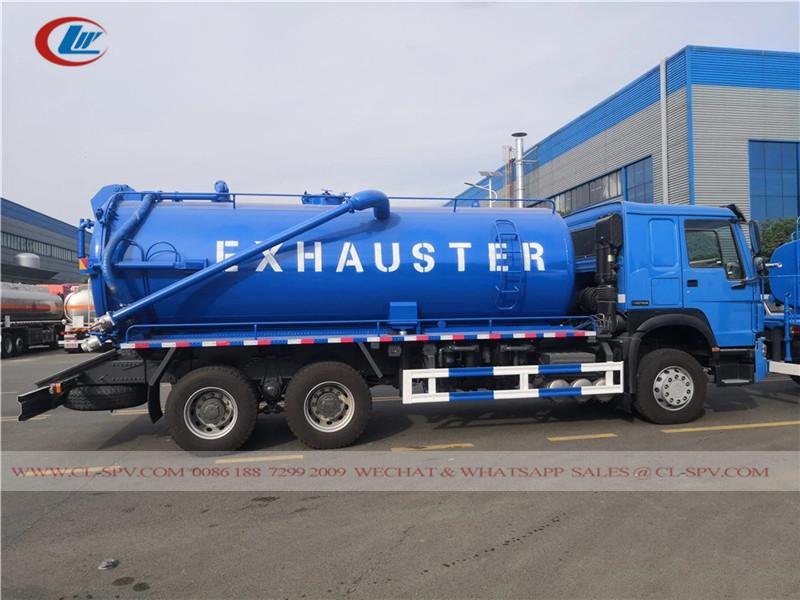 Howo Vakuum-Abwasserwagen