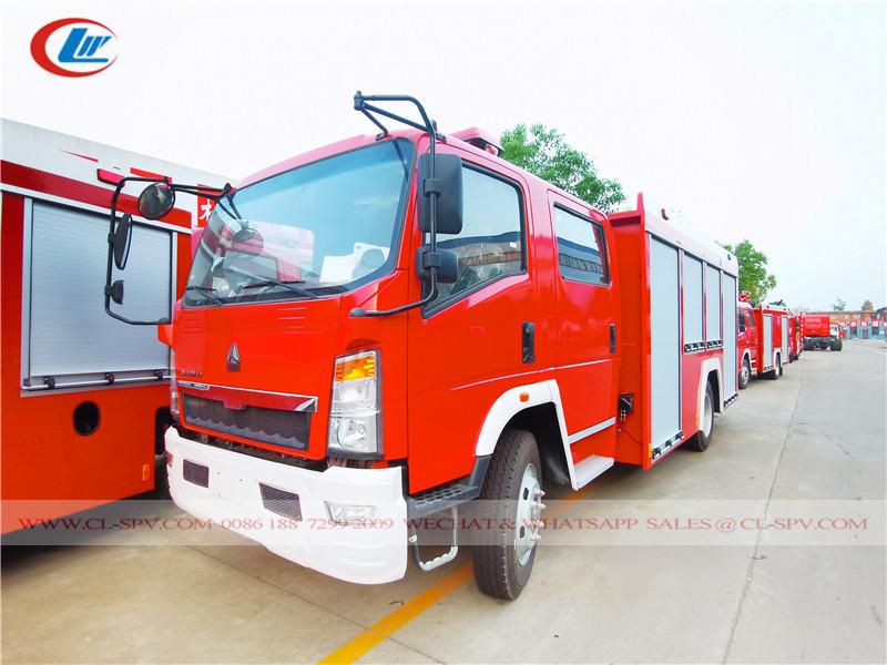 HOWO 5 吨消防车