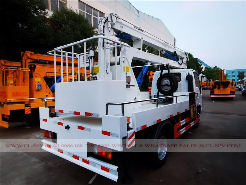 五十铃100P 14 米高空作业车