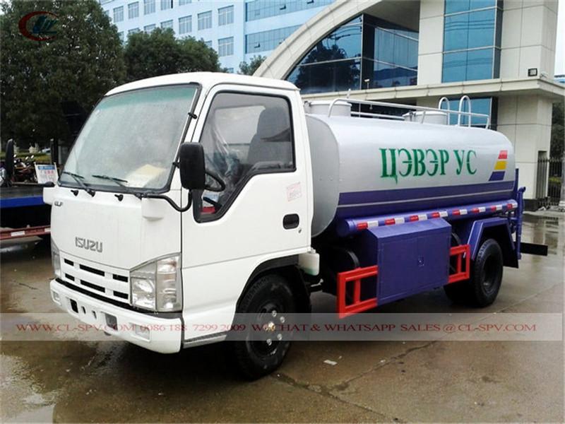Isuzu 5000 caminhão tanque de água litros