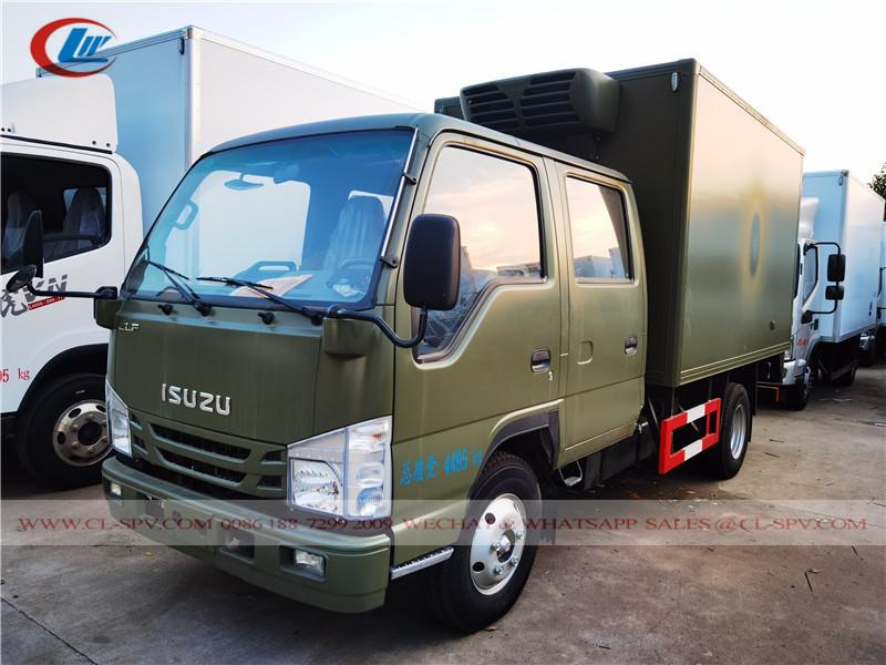 Isuzu 100P double row refrigerated van truck
