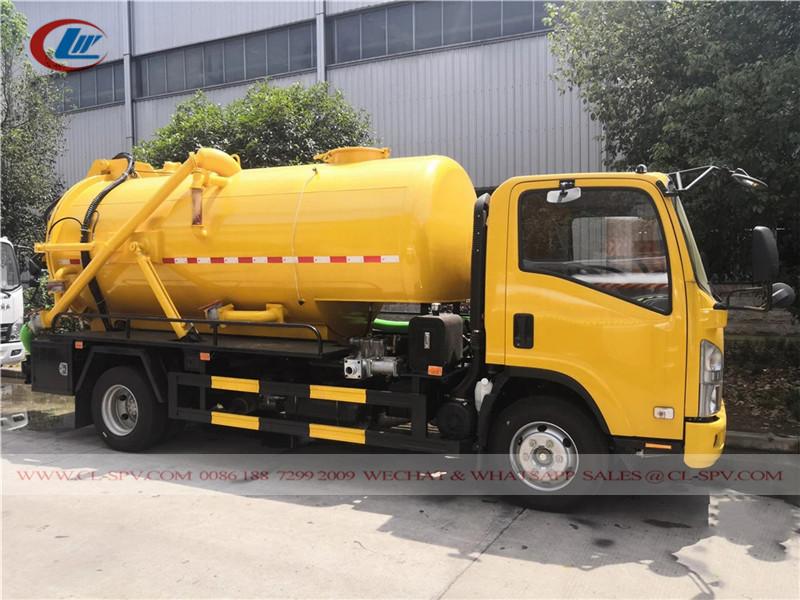 Вакуумная машина для сточных вод Isuzu