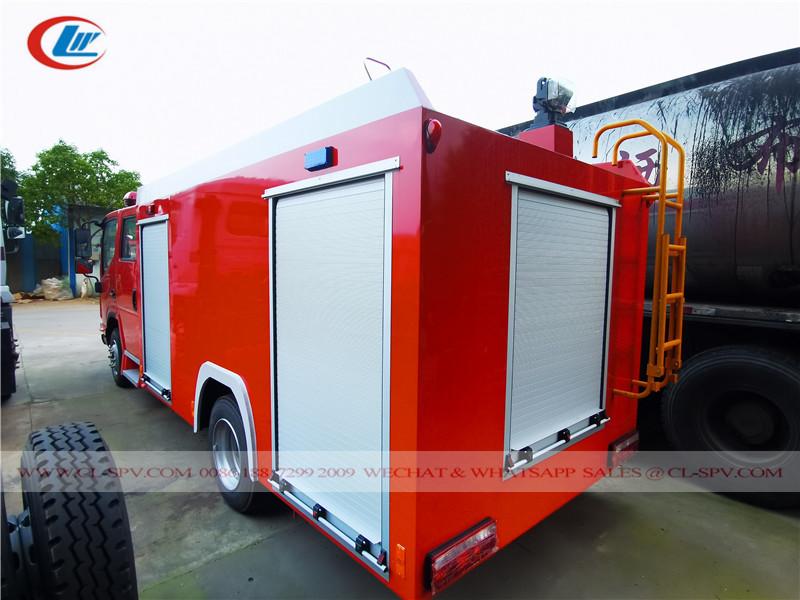 江淮 5000 liters water fire fighting truck