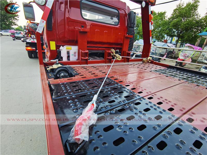 Jac um reboque dois caminhão de reboque - sistema de arrasto