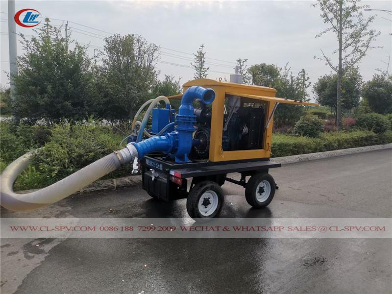 moteur diesel avec pompe à eau auto-amorçante