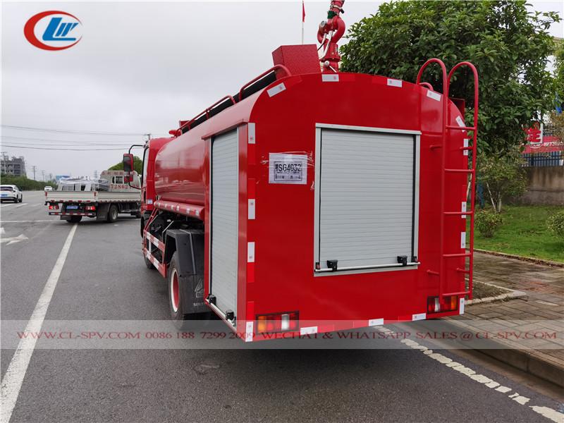 Sinotruk water fire fighting truck