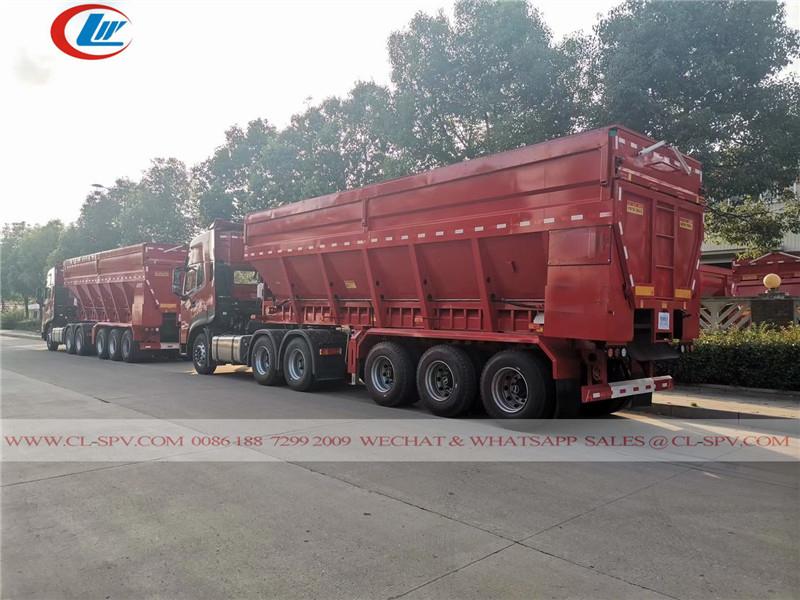 Dongfeng dump trailer