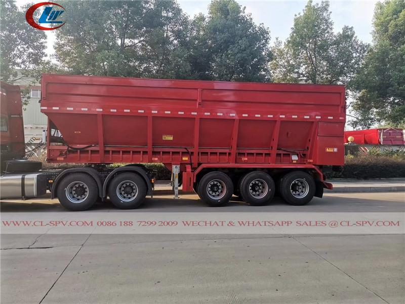 Dongfeng Crawler conveyor belt tipper trailer