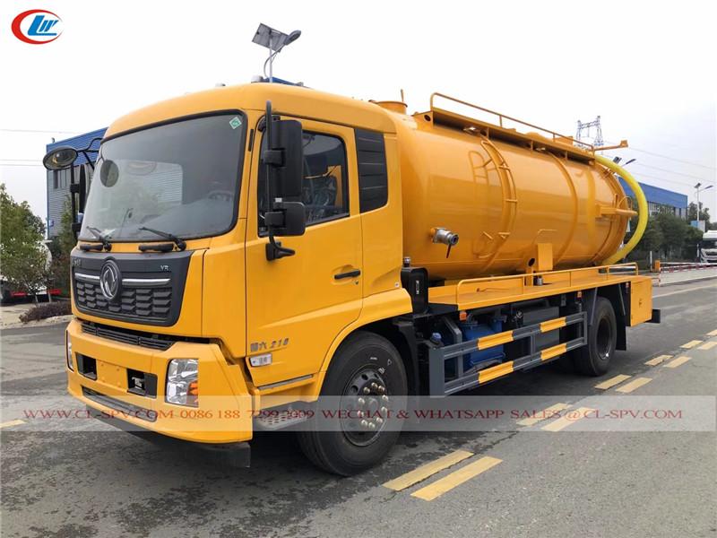 Dongfeng sewage truck