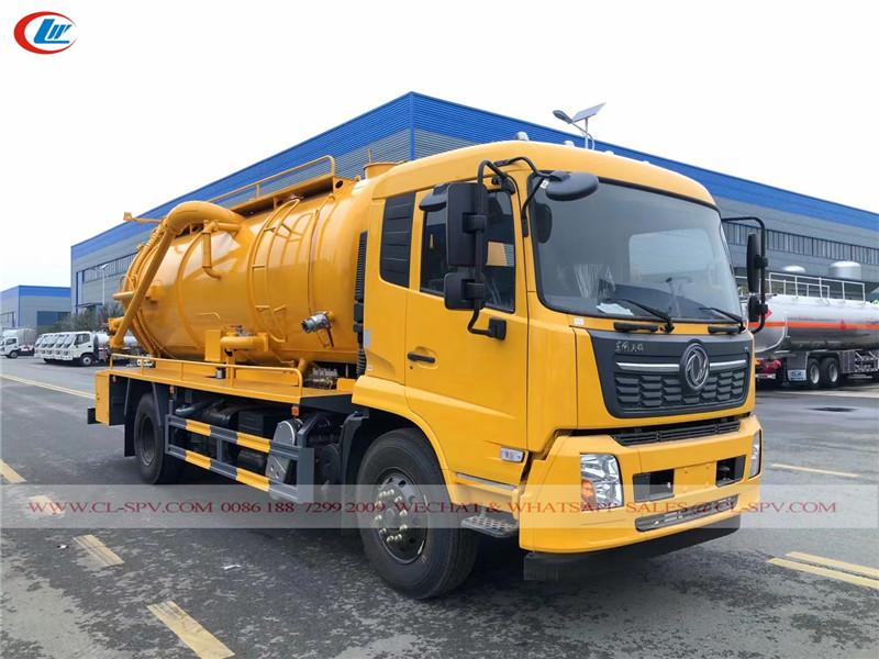 Dongfeng 1 tons sewage truck
