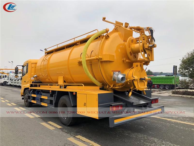 Dongfeng KL 10000 litres camion d'égout sous vide