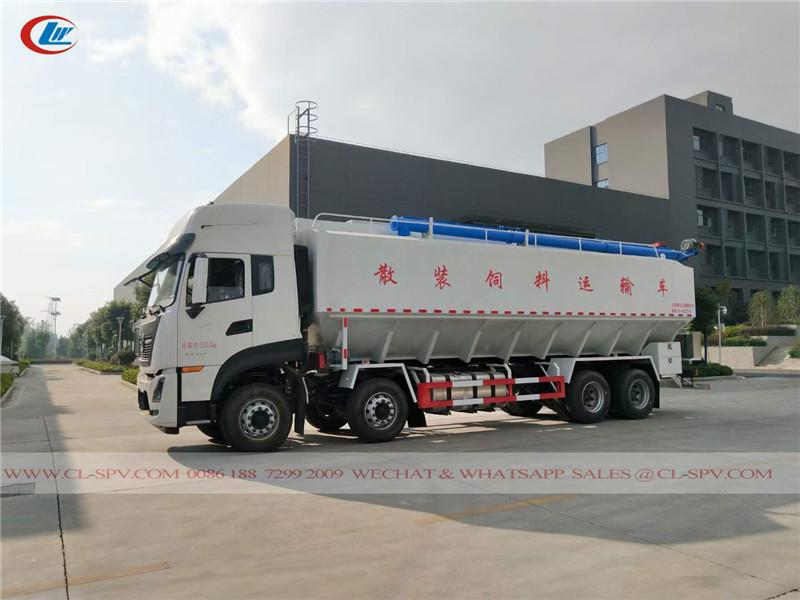 Dongfeng KL 40 cbm bulk feed cargo truck